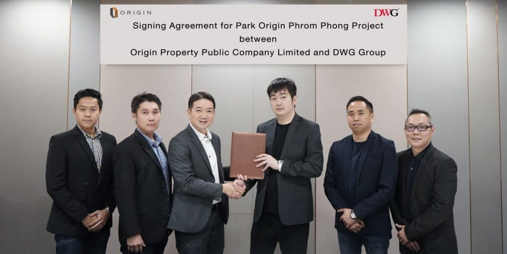 "Origin Property & DWG Promote ""Park Origin Phrom Phong"" into Asia Market"