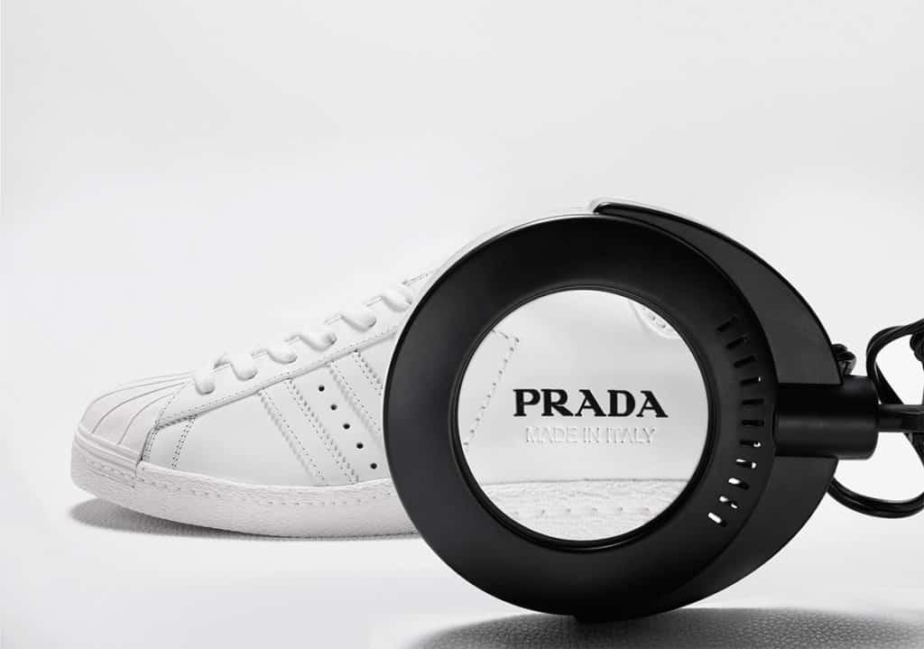 Prada x Adidas 'Superstar' Sneakers